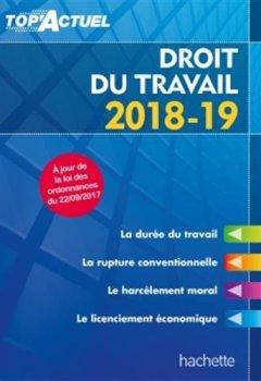 Livres Couvertures de Top'Actuel Droit Du Travail 2018-2019