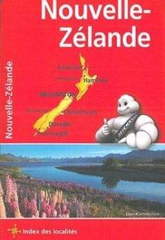 Livres Couvertures de Carte Nouvelle-Zélande Michelin