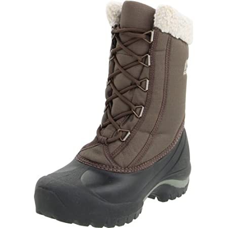 From apres snow sports to around town, the SOREL CumberlandTM boot is the perfect choice for cold weather. This sporty women's boot features a waterproof thermal rubber shell with a polyurethane-coated synthetic textile upper for water- and wind-resi...