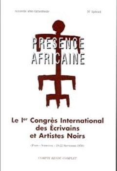 Livres Couvertures de Le Ier Congrès international des écrivains et artistes noirs: Paris, Sorbonne, 19-22 septembre 1956 : compte-rendu complet
