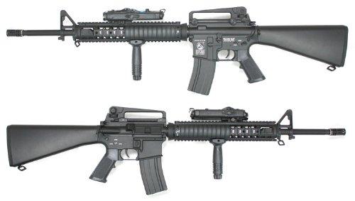 D-BOY055N M16A4 RAS フルメタル電動ガン 【刻印入り】
