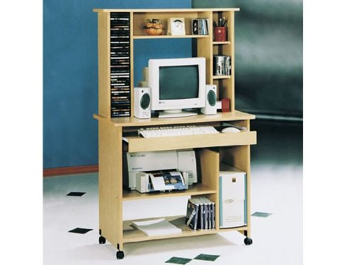 Picture of Comfortable Aspen Fall Computer Desk by Acme Furniue (B005G4UODI) (Computer Desks)