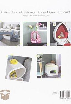 Meubles en carton ! : Recycler pour une décoration durable