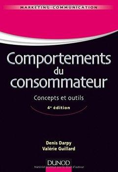 Livres Couvertures de Comportements du consommateur - 4e éd. - Concepts et outils