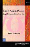 Livres Couvertures de Say It Again, Please: English Pronunciation Exercises