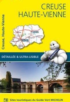 Livres Couvertures de Carte Creuse, Haute-Vienne Michelin
