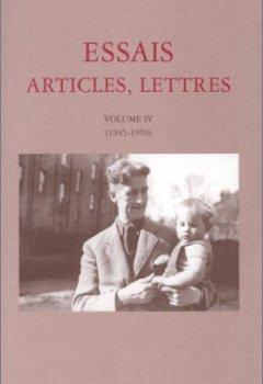 Livres Couvertures de Essais, articles, lettres, volume 4, 1945-1950