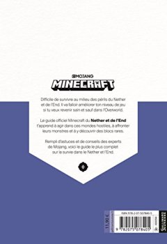 Livres Couvertures de Minecraft, le guide officiel du Nether et de l'Ender