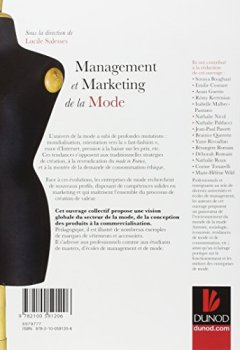 Livres Couvertures de Management et marketing de la mode