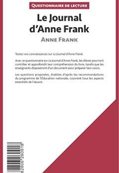 Livres Couvertures de Le Journal d'Anne Frank: Questionnaire de lecture