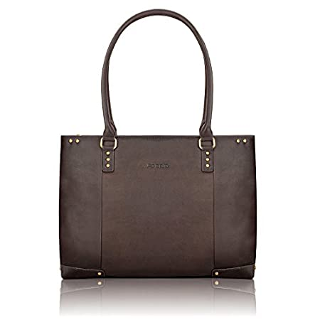 SOLO Leather Laptop Carryall