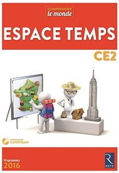 Livres Couvertures de Espace Temps CE2 (+ CD-Rom)