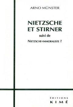 Livres Couvertures de Nietzsche et Stirner