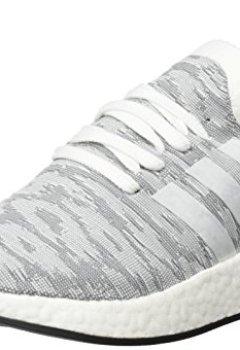 Buchdeckel von adidas Herren NMD_r2 Primeknit Sneaker, Grau Meliert, 43 1/3 EU