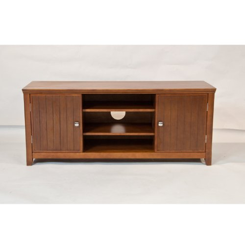 Image of Acadian Collection TV Stand (AXCACA-TV-ALB)