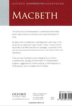 Livres Couvertures de Oxford School Shakespeare: Macbeth