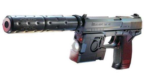 ソーコムMK23 プロトモデル 固定スライド +SIIS BB弾0.25g + ガス(480g)セット グルーピングセット
