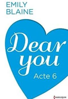 Livres Couvertures de Dear You - Acte 6