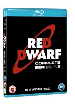 Livres Couvertures de Red Dwarf - Series 1-8 [Blu-ray]