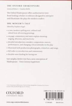 Livres Couvertures de The Winter's Tale: The Oxford Shakespeare