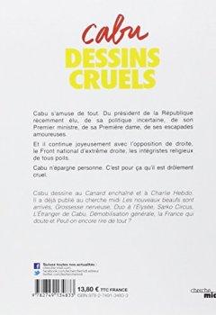 Livres Couvertures de Dessins cruels
