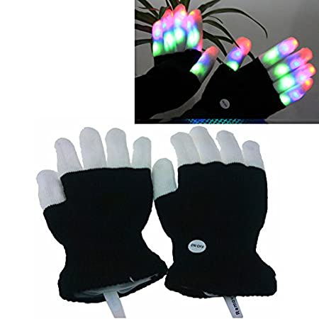 Feature:  Can be used at dance halls, bars, stage performances and other large entertainment venues, can also be used to play the piano at night. No matter what you used to do, you take this pair of gloves is a beautiful luminous landscape, make yo...