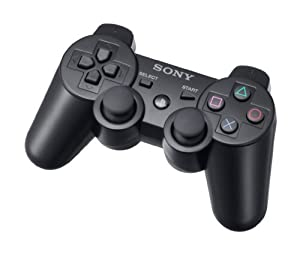 DualShock 3 PS3 controller Black (PS3): Amazon.co.uk: PC & Video Games