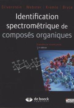 Livres Couvertures de Identification spectrométrique de composés organiques
