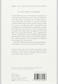 Livres Couvertures de Le petit prince cannibale - Prix Goncourt des Lycéens 1990