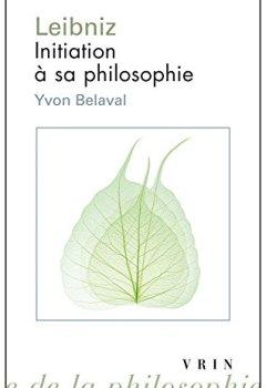 Livres Couvertures de Leibniz : Initiation à sa philosophie