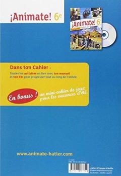 Livres Couvertures de Animate Espagnol 6e éd. 2013 - Cahier d'activités