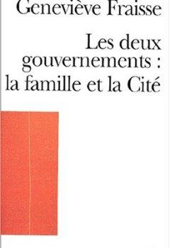 Livres Couvertures de Les deux gouvernements, la famille et la cité
