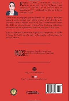 Livres Couvertures de PACES : Présentation, Conseils et Secrets bien gardés de ceux qui réussissent du premier coup