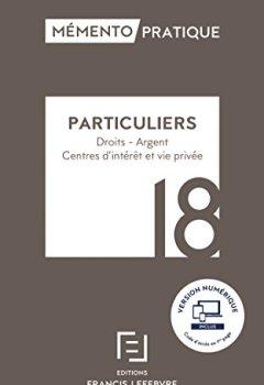 Livres Couvertures de MEMENTO PARTICULIERS 2018