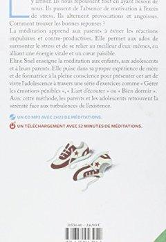 Livres Couvertures de Respirez : la méditation pour les ados et leurs parents