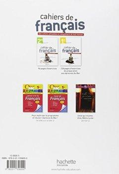 Livres Couvertures de Cahier de français 1re - édition 2013