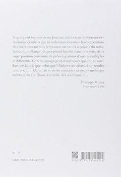 Livres Couvertures de Ultima Necat I: Journal intime 1978-1985