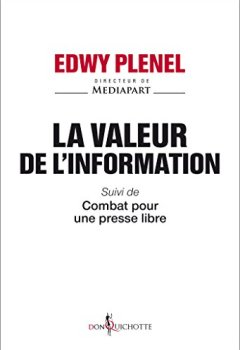 Livres Couvertures de La valeur de l'information