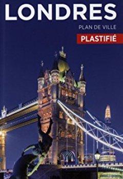 Livres Couvertures de Plan Londres Plastifié Michelin