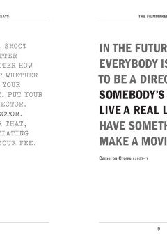Livres Couvertures de The Filmmaker Says: Quotes, Quips, and Words of Wisdom