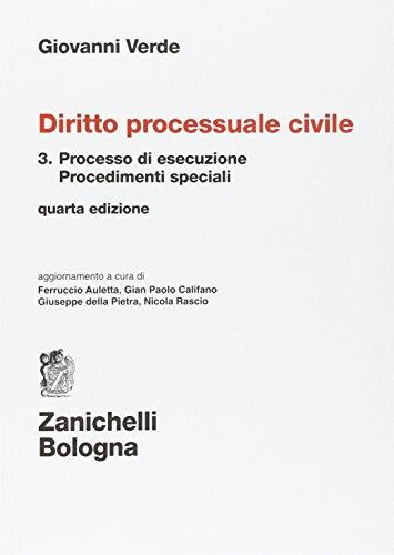Diritto processuale civile: 3