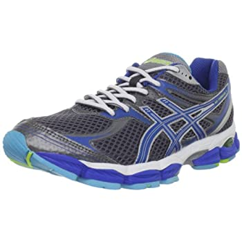 The plush ride of the updated ASICS GEL-Cumulus 14 shoe offers cushioned excellence, mile after mile. This lightweight women's running shoe provides comfort and stability, making it appropriate for gaits ranging from underpronator to mild overpronato...