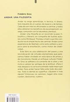 Portada del libro deANDAR, UNA FILOSOFÍA (PENSAMIENTO)