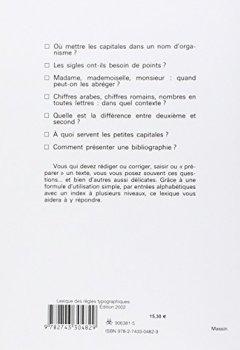 Livres Couvertures de Lexique des règles typographiques en usage à l'Imprimerie nationale