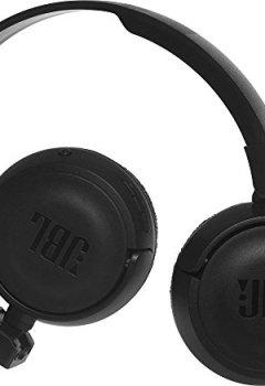 Livres Couvertures de JBL Harman T450BT Casque Audio Supra-Aural Pliable et Léger - Bluetooth - Noir