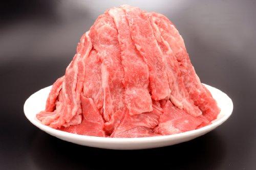 黒毛和牛 切り落とし 1kg (当店の肉類で 送料別商品と、この商品と一緒にすれば、他商品分の送料無料になります)
