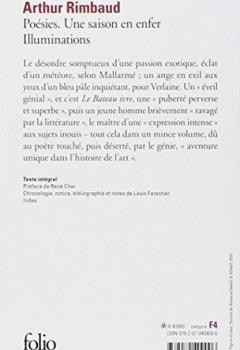 Livres Couvertures de Rimbaud : Poésies - Une saison en enfer - Illuminations