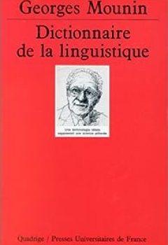 Livres Couvertures de Dictionnaire de la linguistique