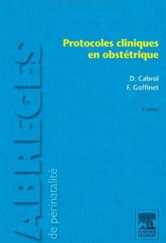 Livres Couvertures de Protocoles cliniques en obstétrique
