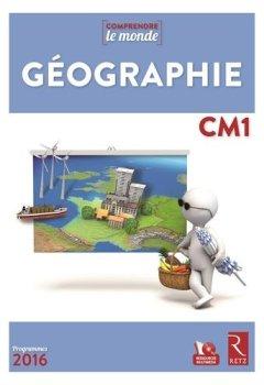 Livres Couvertures de Géographie CM1 (+DVD) - Nouveau programme 2016